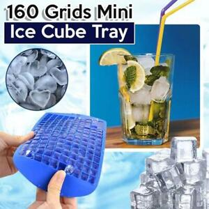 160 Grids Frozen Cubes Silicone Mini Small DIY Ice Cube Tray Ice Maker Mold 2022