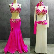 Egyptian professional belly dance costume & galabeya baladi gift made any color