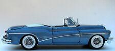 1 BUICK 1950 deportivo VINTAGE Concepto BUILT 12 Carousel Azul 24 HARLEY modelo