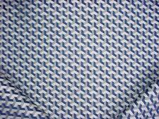 1-5/8Y Scalamandre H0755 Ceramic Nautique Geometric Jacquard Upholstery Fabric