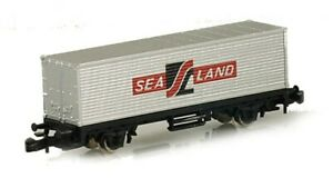 Marklin 8616 Z Scale Sealand Container Car LN/Box