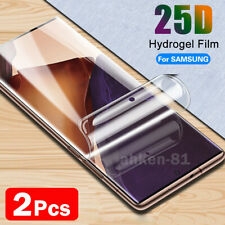 2x For Samsung Galaxy Note20 Ultra S20 5G S10 TPU Hydrogel Screen Protector Film