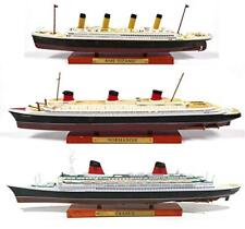 Atlas Set of 3 transatlantic cruise ships France  Normandy  Titanic Collection