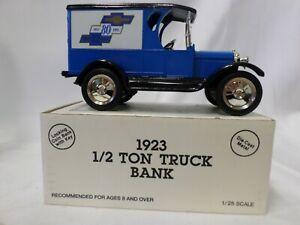 Ertl Die Cast 1923 1/2 Ton Truck Bank #2115 Chevrolet 1923 Delivery Van NIB