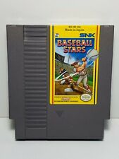 Baseball Stars -- NES Nintendo Original Classic Authentic Game TESTED GUARANTEED