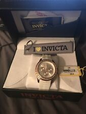 invicta angel womens watch rose gold