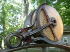 Antique Vintage Cast Iron Hudson Hay Trolley Line Pulley Barn Farm Tool