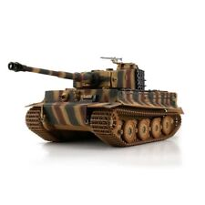 1:16 Torro German Tiger I Late RC Tank Airsoft 2.4GHz Hobby Edition Camouflage
