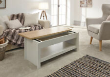 SALE NOW ON Lancaster Coffee Table GFW Cream with Oak-Effect Sliding Top
