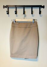 Bebe Woman's Gabriella Tara Pencil Skirt Tan Size- 0
