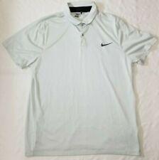 Nike Golf Modern Fit polo shirt men sz Xl dri-fit light gray/black