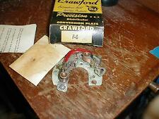 NORS FORD 1949-56 SIX CYLINDER DUAL POINT DISTRIBUTOR BREAKER PLATE