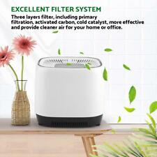 New Air Purifier Cleaner Hepa Filter Particle Carbon Remove Odor Dust Mold