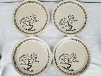 """4 Dinner Plates Temper-Ware By Lenox Desert Morn 10"""""""