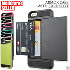 iPhone 8 7 6 6S Plus XR X XS Max Shockproof Armor Card Case Cover Apple