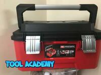 Facom Tools Large Professional Toolbox Tool Box Bright Red With Bit Holders