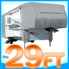 29' ft 5th Wheel Cover RV Motorhome Trailer Winter Storage Protection Rain Snow