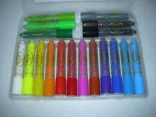 !!! NEU !!! 18 Farben Wachsmal-Aqua Stifte, wasservermalbar