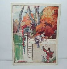 vintage France French Paris Théâtre de Dix heures program booklet ad