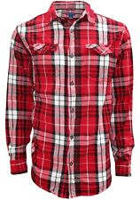 Plaid, Flannel Shirts for Men, Long Sleeve Button Down - Size Medium to 3XL