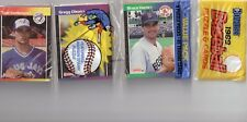 1989 DONRUSS Baseball Rack Pack With GREGG OLSON on the top (45) Cards