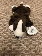 Ty Beanie Baby - Bruno the Bull Terrier Dog (8.5 inch) -Stuffed Animal Toy
