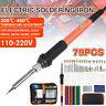 79Pcs Electric Wood Burning Pen Tips Soldering Iron Tool Pyrography Craft Kit 🔥
