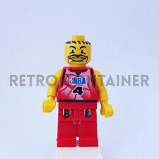 LEGO Minifigures - 1x nba044 - Basketball Player - NBA Omino Minifig 3432 3440