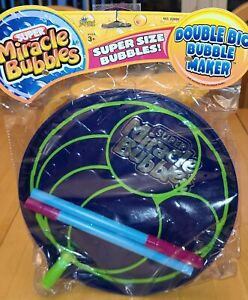 SUPER SIZE MIRICLACLE BUBBLES Wand & Tray New 2009 by IMPERIAL