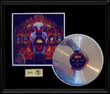 KISS PSYCHO CIRCUS 3D COVER RARE GOLD RECORD PLATINUM DISC ALBUM LP FRAME