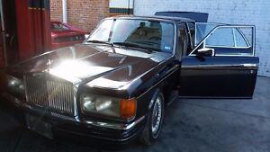 1998 Rolls Royce Silver Spirit Spur Left Rear View mirror Chrome