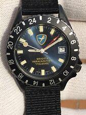 "Diver Vintage 200 Mt Military Gmt North Eagle ""Brigata Paracudisti Folgore"""