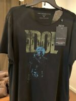 NWT John Varvatos Star USA Billy Idol Double Sided T Shirt Large Ltd Edition