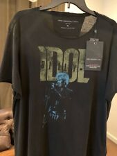 NWT John Varvatos Star USA Billy Idol Double Sided T Shirt XXL Ltd Edition Rock