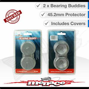 Trailer Wheel Axle BEARING BUDDIES & Caps Dust Cover