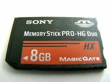 8GB Memory Stick PRO-HG Duo ( 8 GB MS PRO-HG Duo ) gebraucht
