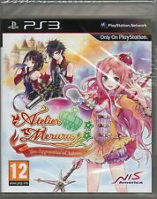 Atelier Meruru: The Apprentice of Arland juego PS3 (RPG) ~ Nuevo/Sellado