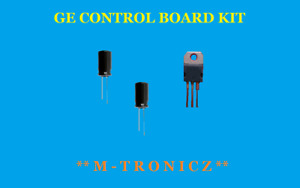 GE  WR55X10956   Refrigerator Not Cooling Clicking Control Board Repair Kit