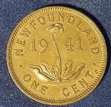 1941-C---CANADA- NEWFOUNDLAND- CENT-BETTER GRADE