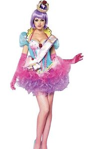Leg avenue Cupcake Queen Katy Perry DELUXE Costume Size SMALL.DISCONTINUED