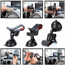 Universal 360°Rotating Car Windshield Mount Holder Stand For Phone  GPS PDA