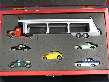 "Schuco Piccolo 40 Jahre, Car Transporter + 5 cars ""40 Jahre Piccolo"" (JS)"