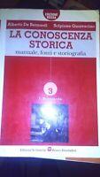CONOSCENZA STORICA Ed. ROSSA vol 3 / 9788842444657