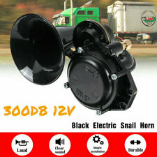 300dB Air Horn Loud Single Trumpet Electric Snail For 12V Car Truck Lorry SUV RV