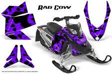 SKI-DOO REV XP SNOWMOBILE SLED GRAPHICS KIT WRAP DECALS CREATORX RAD COW PR