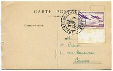 CARTE MAXIMUM  1942   JOURNEE DU TIMBRE NICE 19 avril