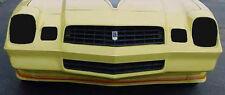 78-81 Chevrolet Camaro GTS Smoke Acrylic Headlight Turn Signal Covers GT0103S