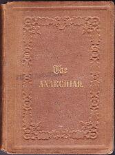 THE ANARCHIAD-BARLOW, TRUMBULL, HUMPHREYS, HOPKINS-FIRST PRINTING-1861