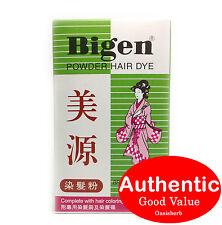Bigen Powder Hair Dye - Brown Black Color B (Japan) - 6g (New!)