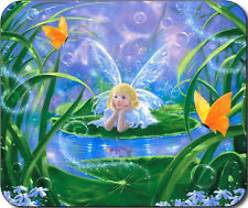 Fairy Pixie Butterfly Garden Large Mousepad Mouse Pad Great Gift Idea